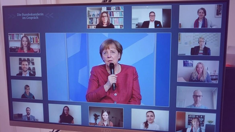 Angela Merkels Dialog mit Kultur- und Kreativschaffenden