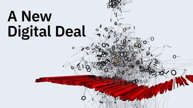 "Ars Electronica Garden in Berlin – ""A New Digital Deal"""