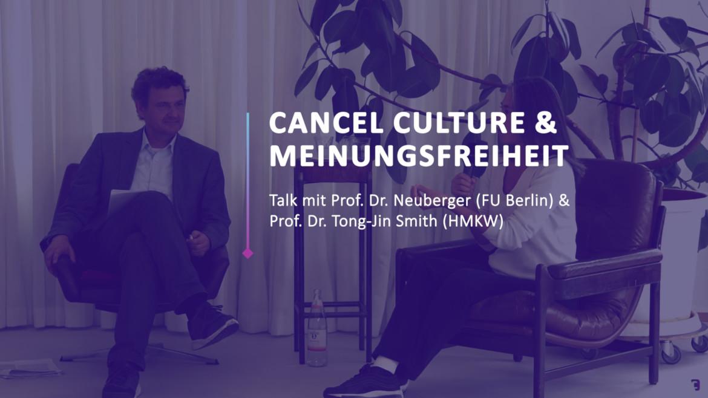 CCF 21: Cancel Culture – Wissenschafts-Talk