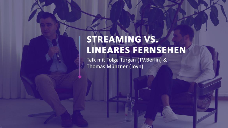 """CCF 21: Joyn & TV.Berlin – """"Streaming vs. lineares Fernsehen"""""""